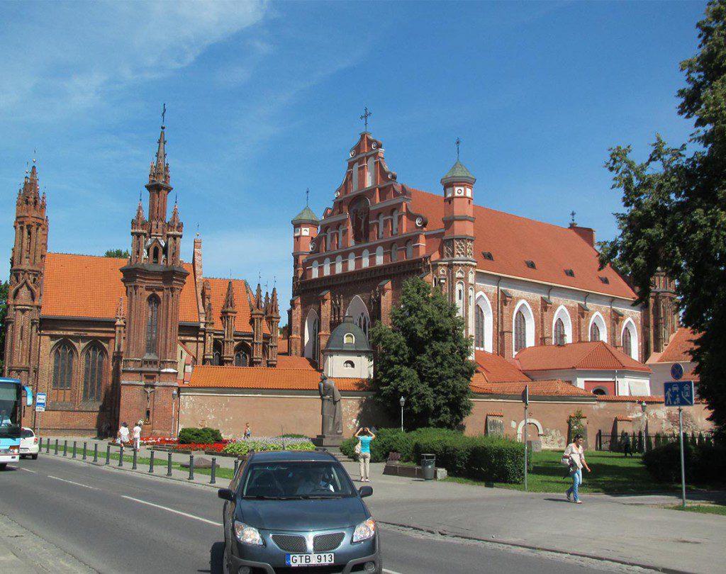 Litauen_Vilnius_St_Anna_Kirche