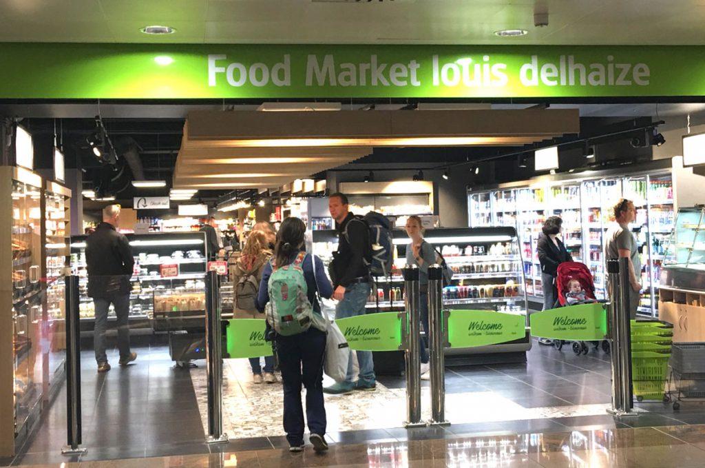 Supermarket Brussel Airport