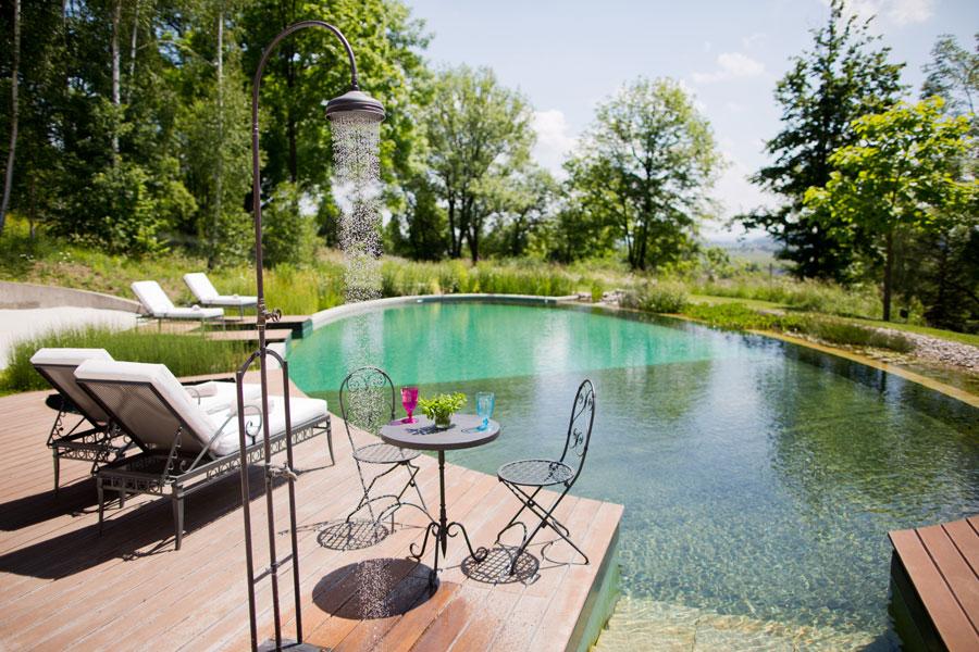 Schlosshotel Mcely Naturschwimmteich